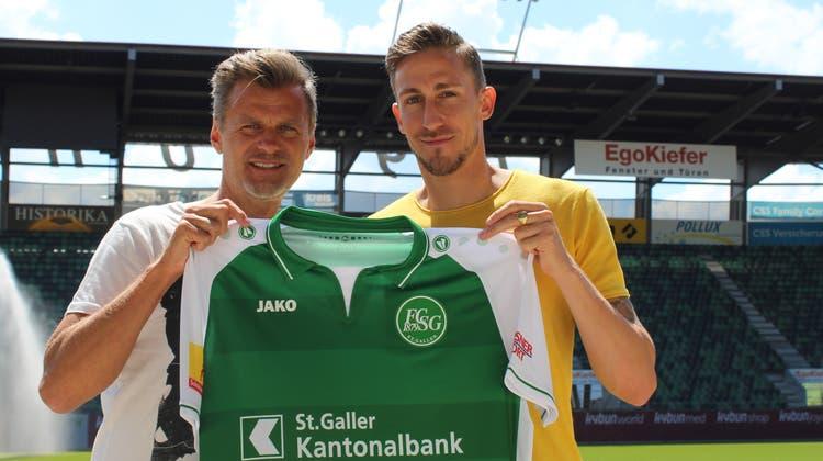 Erster Transfer fix: FCSG verpflichtet neuen Abwehrspieler