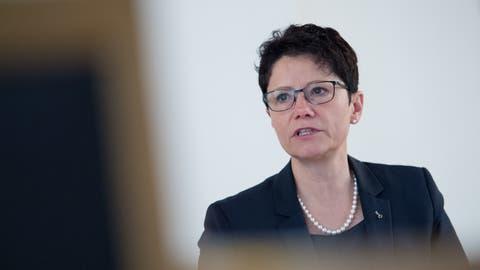 Vertritt im Juni die Vorlage im Kantonsrat: Finanzdirektorin Maya Büchi. (Bild: Pius Amrein, Sarnen, 28. März 2019)