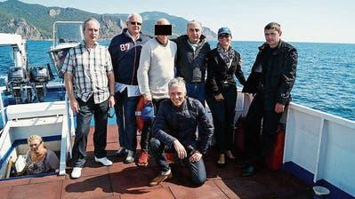 Ferienstimmung auf dem Baikalsee – Bundesanwalt Lauber tappt in eine Foto-Falle
