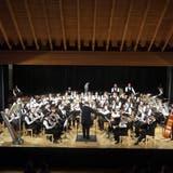 Das Symphonische Blasorchester Kreuzlingen (hier an einem Konzert in Bottighofen) hat am kantonalen Musikfest brilliert. (Bild: PD)