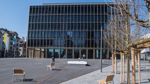 Das Krienser Stadthaus ist Teil des Zentrumsprojekts. (Bild: Boris Bürgisser, 21. März 2019)
