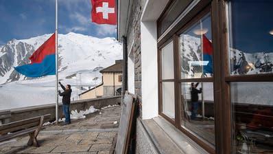 Öffnung der Gotthard-Passstrasse an Pfingsten noch nicht sicher