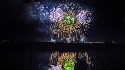 Das Feuerwerk am Seenachtfest hat Tradition. (Bild: Andrea Stalder)