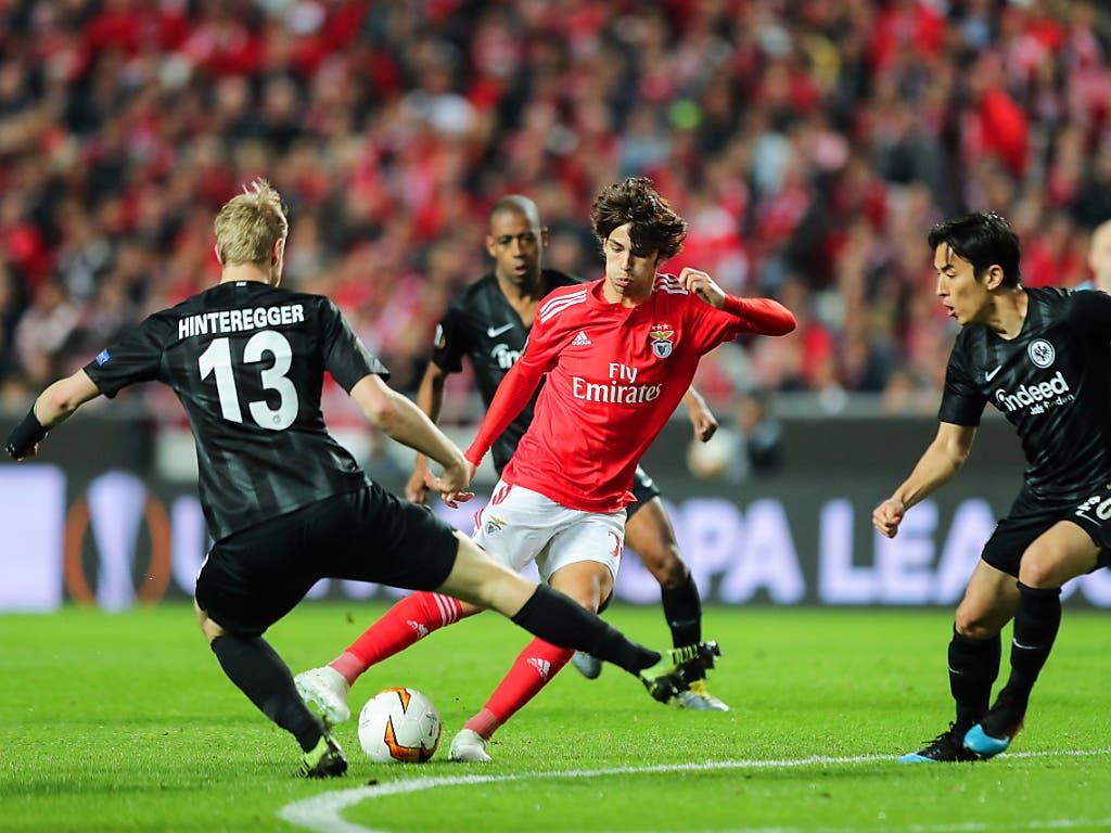 Mit seiner Galavorstellung gegen Eintracht Frankfurt in der Europa League machte João Felix international auf sich aufmerksam (Bild: KEYSTONE/EPA LUSA/MIGUEL A. LOPES)