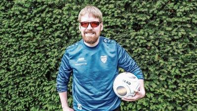 Mit einer Sehkraft von zehn Prozent: Matthias Müller kickt für den SC Aadorf