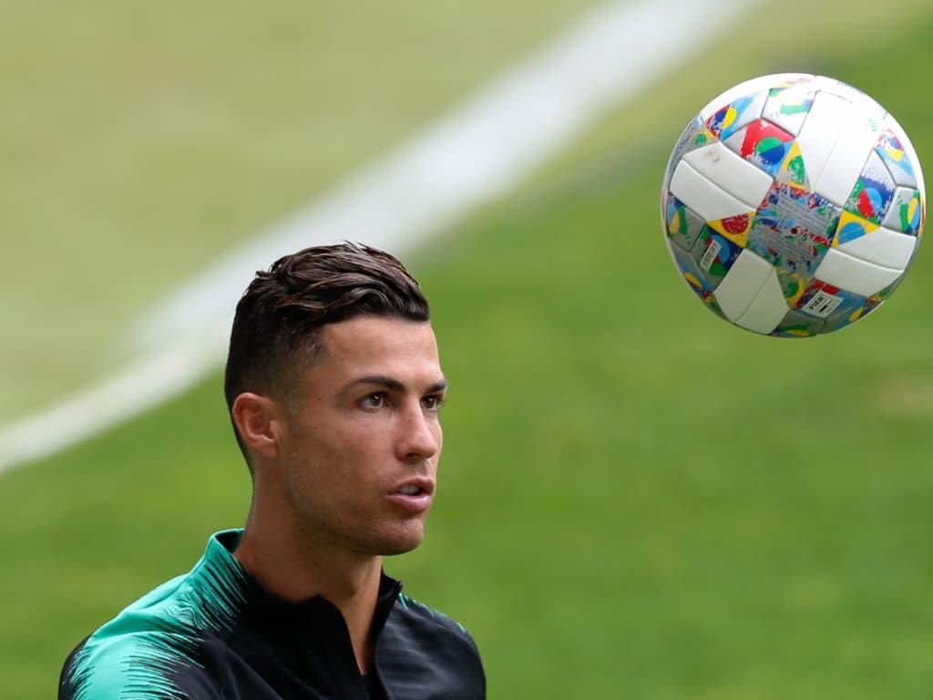 Cristiano Ronaldo wird auch im Spiel gegen die Schweiz im Fokus stehen. (Bild: KEYSTONE/EPA LUSA/JOSE COELHO)