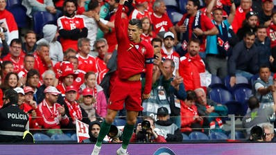 Portugal schlägt Schweiz dank Ronaldo-Hattrick