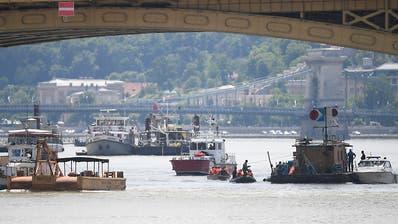 Nach Schiffsunglück auf der Donau: 15 Opfer immer noch vermisst