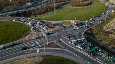 Drohnenaufnahmen SedelstrasseFotografiert am 28. März in Luzern
