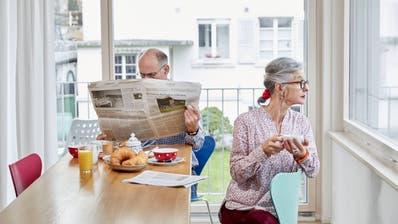 Aus der zweiten Säule werden Neurentner in Zukunft noch weniger Rente erhalten. (Foto: Christof Schuerpf)
