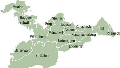 Grosser Zusammenschluss: Die neue Zivilschutzregion St.Gallen-Bodensee umfasst 16 Gemeinden und 570 Mann