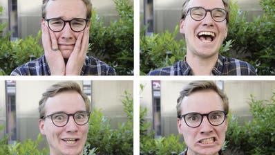 Vielfältig: Der 25-jährige Simon Keller steht nicht nur auf der Bühne, sondern schreibt auch Theaterstücke und führt Regie. (Bilder: Tobias Söldi)
