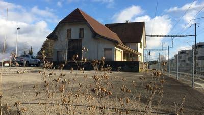 Über das Schicksal des Bahnhofs Bernrain ist immer noch nicht entschieden. (Bild: Urs Brüschweiler)