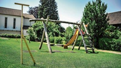 Münchwiler Eltern und Kinder bauen im September den öffentlichen Spielplatz