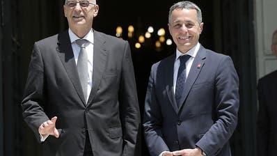 Bundesrat Ignazio Cassis trifft neuen Aussenminister Griechenlands