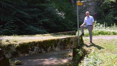 Werner Ibig kennt die Murg als Naturmensch und Tourismusdirektor bestens. (Bilder: Christoph Heer)