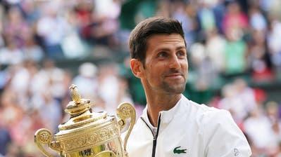 16-facher Grand-Slam-Sieger, 5-facher Wimbledon-Champion, Nummer 1 der Welt und vielleicht der beste Spieler der Geschichte: Novak Djokovic. (Bild: Keystone)