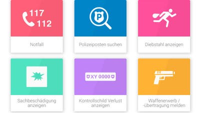 Diebstähle können neu per App bei der Luzerner Polizei gemeldet werden