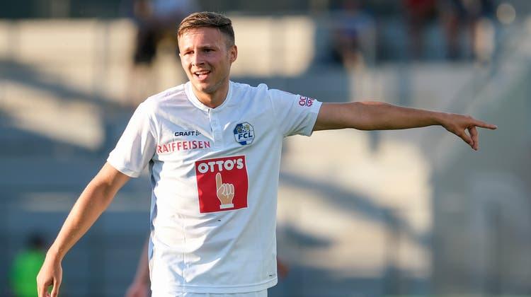 Führungsspieler Idriz Voca: Er ist neu der Stellvertreter von Captain Pascal Schürpf.(Bild: Martin Meienberger/Freshfocus, Biel, 9. Juli 2019)