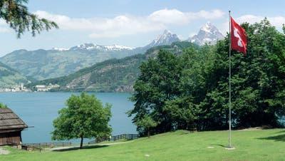 Heute wird die Rütliwiese von der Schweizerischen Gemeinnützigen Gesellschaft verwaltet. (KEYSTONE/Martin Ruetschi)
