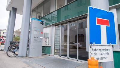 Der Eingang zum Bezirksgericht Arbon. (Bild: Reto Martin)