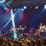 Der Headliner am letztjährigen Festival am Gleis: Marc Sway. Dieses Jahr stehen unter anderem Velvet Two Stripes aus St.Gallen auf der Bühne. (Bild: Christoph Heer)