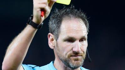 Der Ostschweizer Spitzenschiedsrichter Nikolaj Hänni. (Bild: Laurent Gillieron/KEY)