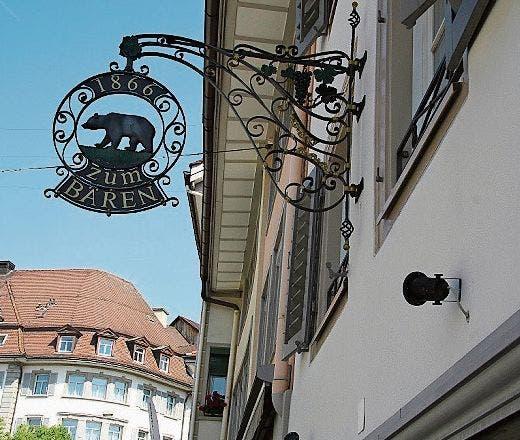 Das Café Schöntal hat viele Stammgäste. Für sie kommt die Schliessung des Lokals einer Hiobsbotschaft gleich. (Bild: Philipp Stutz)