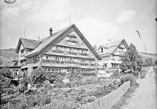 Das «Heimetli» vor 1925, bevor es aufgestockt wurde. (Bild: PD)