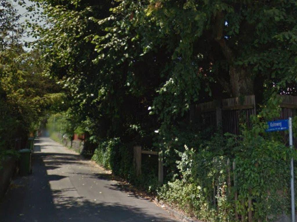 Am Kuhnweg im Osten von Bern kam ein Mann bei einem Polizeieinsatz ums Leben. (Bild: Google Maps)