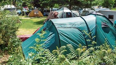 Camping wird immer beliebter, das zeigen auch die Zahlen vom Bundesamt für Statistik. (Bild: Getty)