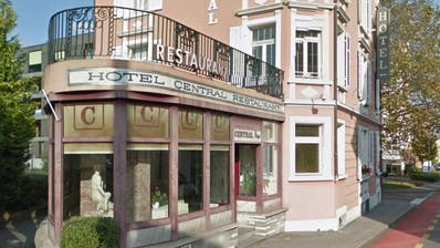 Das Hotel Central in Kriens. (Bild: Screenshot Google Maps)