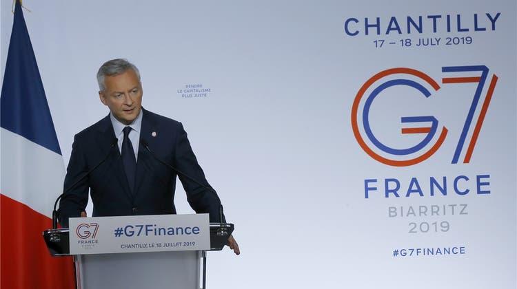 Ansätze einer Weltsteuer: G7-Minister planen eine internationale Mindeststeuer fürDigitalkonzerne