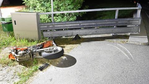 Die Unfallstelle in Luthern. (Bild: Luzerner Polizei)