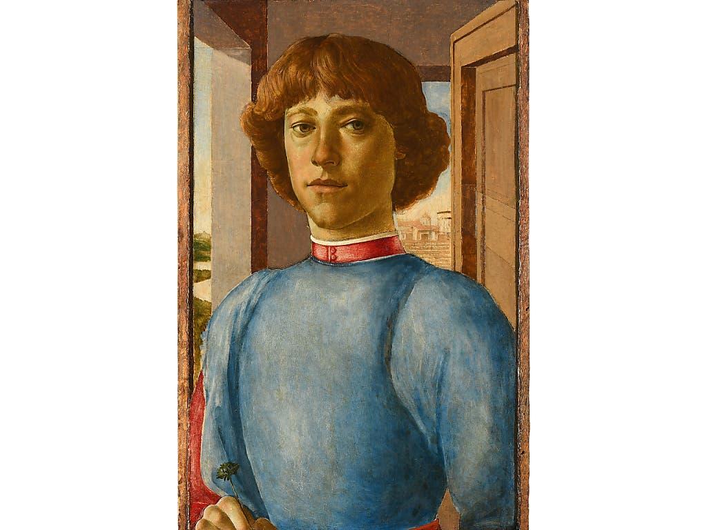 Ein Kunsthändler spekulierte darauf, dass dieses Ölgemälde ein echter Botticelli ist und bezahlte an einer Auktion in Zürich dafür rekordhohe 6,4 Millionen Franken. (Bild: Schuler Auktionen)