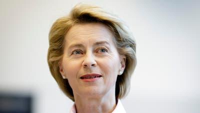 Die deutsche Verteidigungsministerin Ursula von der Leyen.Bild: Inga Kjer/Getty (Berlin, 20. März 2018)