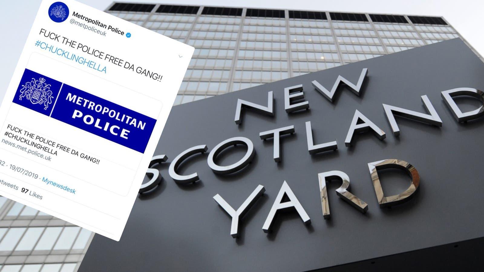 Fuck the police free da gang» – der Twitter Account von Scotland ...