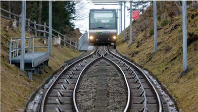 Die Zugerbergbahn. (Bild: Stefan Kaiser)