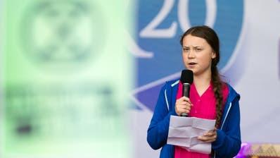 Umweltaktivistin Thunberg nimmt an Klimagipfel in Lausanne teil