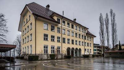 Das Schulhaus Littau Dorf wird auch anhand der Ideen von Kindern gestaltet. (Bild: Pius Amrein, 14. März 2019)
