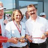 Legende eröffnet FFA Museum in Altenrhein