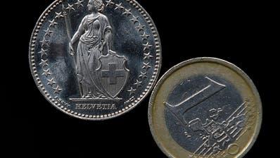 Euro fällt wieder unter 1,10 Franken