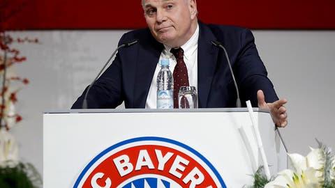 Hoeness verzichtet angeblich auf Wiederwahl als Bayern-Präsident