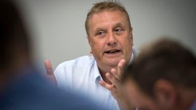 Jürg Weber, Leiter des Frauenfelder Grundbuchamts und Notariats. (Bild: Reto Martin)