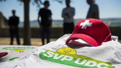 Das SVP-Sünneli hatte zuletzt wenig Grund zum Lachen. (Bild: Jean-Christophe Bott, Keystone (Orbe, 29. Juni 2019))