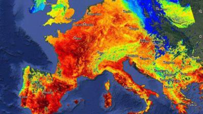 Der Ticker zur Hitzewelle: Krankenkasse rät bei Hitze zum Masturbieren ++ Tropennacht ++ Gewitter vorausgesagt