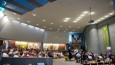 In der Kirche St. Johannes spielten junge Talente im Rahmen der Astona-Förderwoche. (Bild: Maria Schmid, Zug, 25. Juli 2019)
