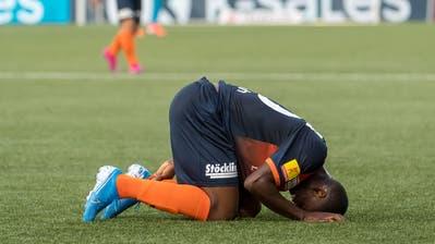 Knappe Niederlage für den FC Wil gegen Absteiger GC. (Bild: Michel Canonica)