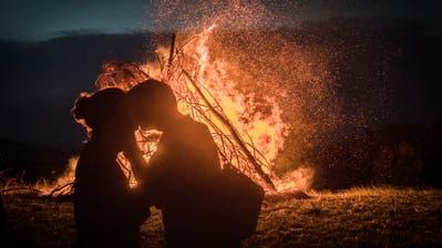 Bei einem Höhenfeuer lässt sich der 1. August besonders geniessen. (Bild: Benjamin Manser, St. Gallen)