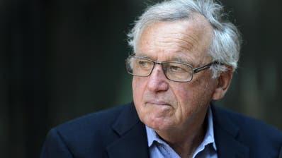 Der 83-jährige Hansjörg Wyss zeigt sich spendabel. (KEYSTONE/Laurent Gillieron).